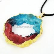 Large-Natural-Druzy-Quartz-Agate-Geode-Sliced-Pendant-Charm-Beads-Gold-Necklace-261851410079-65a6