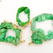 Large-Natural-Druzy-Quartz-Agate-Geode-Sliced-Pendant-Charm-Beads-Gold-Necklace-261851410079-94e0