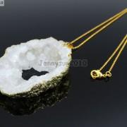 Large-Natural-Druzy-Quartz-Agate-Geode-Sliced-Pendant-Charm-Beads-Gold-Necklace-261851410079-f6f2