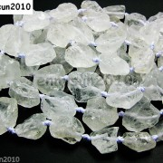 Large-Rough-Natural-15mm-30mm-Clear-Crystal-Quartz-Gemstone-Baroque-Beads-16-261072188091-3