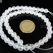 Matte-Crystal-Quartz-Rock-Gemstones-Round-Beads-15039039-6mm-8mm-10mm-12mm-14mm-16mm-281197740831-9a0f