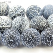 Matte-Frosted-Black-Fire-Crackle-Agate-Gemstones-Round-Beads-15-6mm-8mm-10mm-262198152811-3