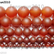 Matte-Red-Natural-Carnelian-Agate-Gemstone-Round-Beads-155-4mm-6mm-8mm-10mm-370776253661-3