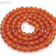 Matte-Red-Natural-Carnelian-Agate-Gemstone-Round-Beads-155039039-4mm-6mm-8mm-10mm-370776253661-b3a4