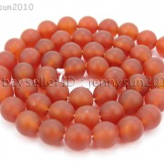 Matte-Red-Natural-Carnelian-Agate-Gemstone-Round-Beads-155039039-4mm-6mm-8mm-10mm-370776253661-faf7
