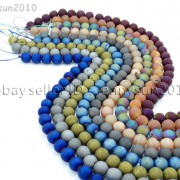 Metallic-Titanium-Coated-Druzy-Quartz-Agate-Gemstones-Round-Beads-15-8mm-10mm-262198159740-5