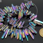 Metallic-Titanium-Coated-Natural-Quartz-Crystal-Stick-Spike-Pointed-Beads-16039039-261878561114-c83b