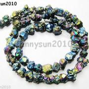 Multi-Colored-Metallic-Titanium-Coated-Natural-Quartz-Crystal-Druzy-Beads-16-261156312785-2