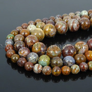 Natural-African-Green-Brown-Opal-Gemstone-Round-Beads-155-6mm-8mm-10mm-12mm-371824296497
