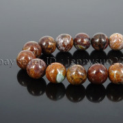 Natural-African-Green-Brown-Opal-Gemstone-Round-Beads-155-6mm-8mm-10mm-12mm-371824296497-5