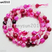 Natural-Agate-Gemstone-Faceted-Round-Beads-155039039-6mm-8mm-10mm-Pink-With-Stripe-251109293431-3d91