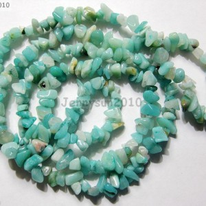Natural-Amazonite-Gemstone-5-8mm-Chip-Beads-35-For-Bracelet-or-Necklace-Making-281152434951