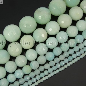 Natural-Amazonite-Gemstone-Faceted-Round-Beads-16-2mm-4mm-6mm-8mm-10mm-12mm-261310558373