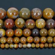 Natural-Aqua-Nueva-Jasper-Gemstone-Round-Spacer-Beads-15-4mm-6mm-8mm-10mm-12mm-282371506218