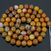 Natural-Aqua-Nueva-Jasper-Gemstone-Round-Spacer-Beads-15039039-4mm-6mm-8mm-10mm-12mm-282371506218-ee85