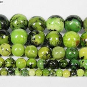 Natural-Australian-Chrysoprase-Gemstone-Round-Beads-16-4mm-6mm-8mm-10m-12mm-281207521970