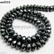 Natural-Black-Jet-Hematite-Gemstone-Rondelle-Spacer-Beads-16039039-4mm-6mm-8mm-10mm-261042730560-006b
