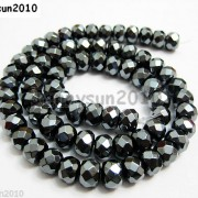 Natural-Black-Jet-Hematite-Gemstone-Rondelle-Spacer-Beads-16039039-4mm-6mm-8mm-10mm-261042730560-33e9