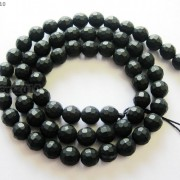 Natural-Black-Onyx-Gemstone-Faceted-Round-Beads-Matte-155039039-6mm-8mm-10mm-12mm-261298038707-715b