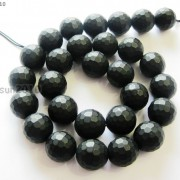 Natural-Black-Onyx-Gemstone-Faceted-Round-Beads-Matte-155039039-6mm-8mm-10mm-12mm-261298038707-9f9e