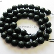 Natural-Black-Onyx-Gemstone-Faceted-Round-Beads-Matte-155039039-6mm-8mm-10mm-12mm-261298038707-c5c0