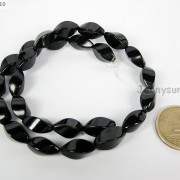 Natural-Black-Onyx-Gemstone-Swirl-Twisted-Drum-Beads-155039039-6mm-8mm-10mm-12mm-370954100492-a20c