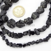 Natural-Black-Tourmaline-Gemstone-Freeform-Crude-Rock-Nugget-Spacer-Beads-16-281683362657-4