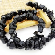 Natural-Black-Tourmaline-Gemstone-Freeform-Crude-Rock-Nugget-Spacer-Beads-16039039-281683362657-c119