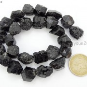 Natural-Black-Tourmaline-Gemstone-Freeform-Crude-Rock-Nugget-Spacer-Beads-16039039-281683362657-c508