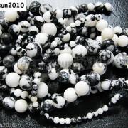 Natural-Black-White-Zebra-Gemstone-Round-Beads-16-2mm-4mm-6mm-8mm-10mm-12mm-261098985918-2