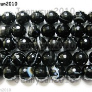 Natural-Black-with-Stripe-Onyx-Gemstone-Faceted-Round-Beads-155-6mm-8mm-10mm-261181200261-4