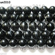 Natural-Black-with-Stripe-Onyx-Gemstones-Round-Beads-155-8mm-10mm-12mm-14mm-281074786212-2