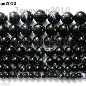 Natural-Black-with-Stripe-Onyx-Gemstones-Round-Beads-155-8mm-10mm-12mm-14mm-281074786212