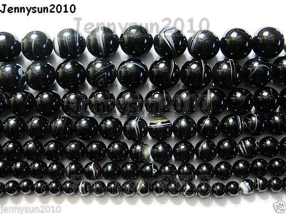 Natural-Black-with-Stripe-Onyx-Gemstones-Round-Beads-155-8mm-10mm-12mm-14mm-281074786212