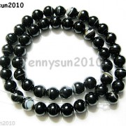 Natural-Black-with-Stripe-Onyx-Gemstones-Round-Beads-155039039-8mm-10mm-12mm-14mm-281074786212-8ca4