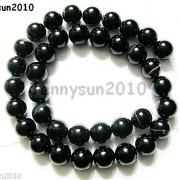 Natural-Black-with-Stripe-Onyx-Gemstones-Round-Beads-155039039-8mm-10mm-12mm-14mm-281074786212-924c