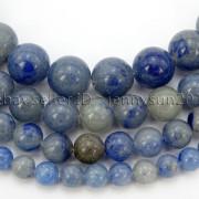 Natural-Blue-Aventurine-Gemstone-Round-Loose-Beads-15-6mm-8mm-10mm-12mm-371661515016-2