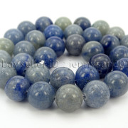 Natural-Blue-Aventurine-Gemstone-Round-Loose-Beads-15-6mm-8mm-10mm-12mm-371661515016-3
