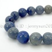Natural-Blue-Aventurine-Gemstone-Round-Loose-Beads-15-6mm-8mm-10mm-12mm-371661515016-4
