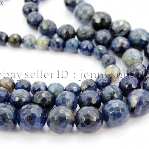 Natural-Blue-Jasper-Gemstone-Faceted-Round-Spacer-Beads-15-4mm-6mm-8mm-10mm-281770981142
