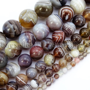 Natural-Botswana-Agate-Gemstone-Round-Beads-155-4mm-6mm-8mm-10mm-12mm-14mm-282054255457
