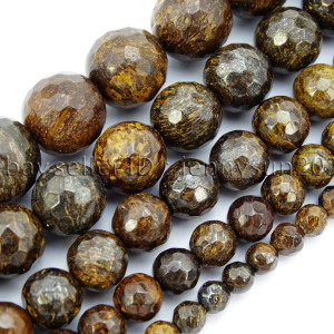 Natural-Bronzite-Jasper-Gemstone-Faceted-Round-Beads-15-4mm-6mm-8mm-10mm-12mm-262453778543