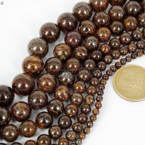 Natural-Bronzite-Jasper-Gemstone-Round-Beads-155-4mm-6mm-8mm-10mm-12mm-14mm-261260429773