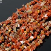 Natural-Carnelian-Gemstone-5-8mm-Chip-Nugget-Beads-35-Bracelet-Necklace-Design-370877466753-3