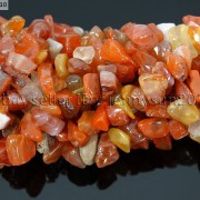 Natural-Carnelian-Gemstone-5-8mm-Chip-Nugget-Beads-35-Bracelet-Necklace-Design-370877466753-4
