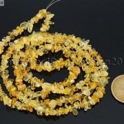 Natural-Citrine-Gemstones-Chip-Nugget-58mm-Beads-35-Bracelet-Necklace-Design-251071752422-2
