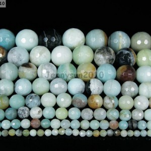Natural-Colorful-Amazonite-Gemstone-Faceted-Round-Beads-16-4mm-6mm-8mm-10mm-281226304071