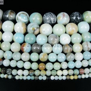 Natural-Colorful-Amazonite-Gemstone-Round-Beads-16-4mm-6mm-8mm-10mm-12mm-14mm-370961519837