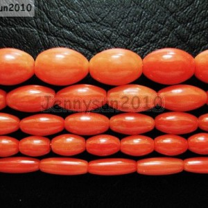 Natural-Coral-Gemstone-Rice-Loose-Beads-Orange-16-Inches-Strand-281124093522