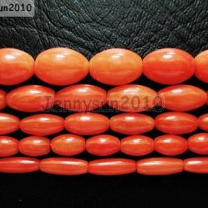 Natural-Coral-Gemstone-Rice-Loose-Beads-Orange-16-Inches-Strand-281124093522
